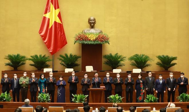 4 Phó Chủ tịch ra mắt Quốc hội khóa XV - 4