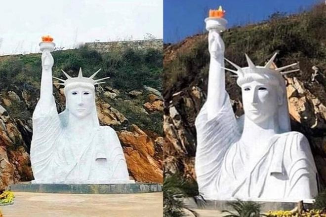 Thị xã Sa Pa vận động chủ cơ sở tháo dỡ tượng Nữ hoàng băng giá - 2