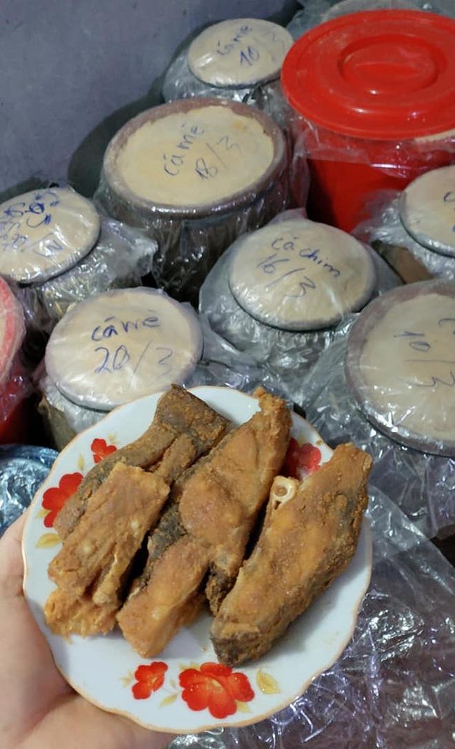 Kỳ công món đặc sản cá muối chua bằng thính gạo ở Vĩnh Phúc - 9