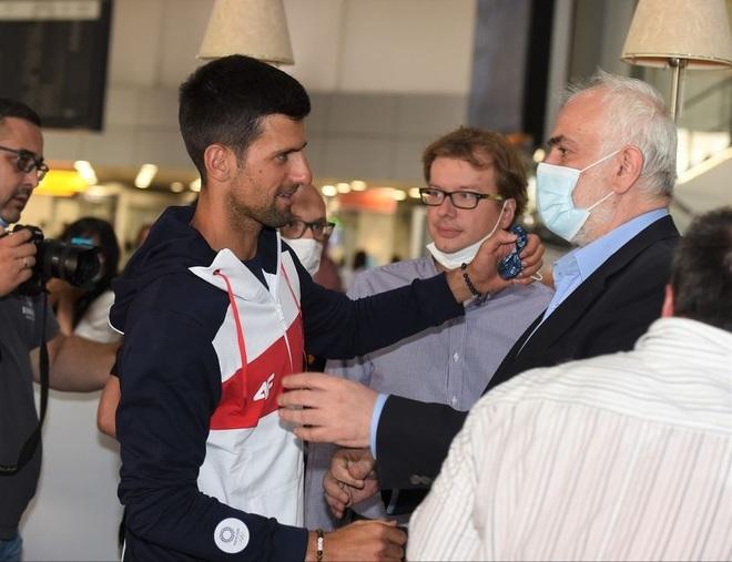 Cựu ngôi sao Inter Milan động viên Djokovic trước thềm Olympic Tokyo - 8