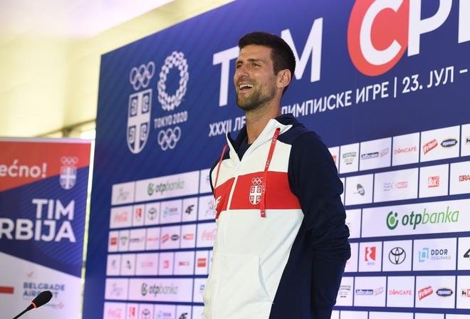 Cựu ngôi sao Inter Milan động viên Djokovic trước thềm Olympic Tokyo - 1
