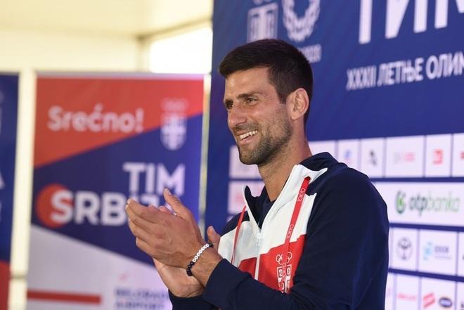 Cựu ngôi sao Inter Milan động viên Djokovic trước thềm Olympic Tokyo - 2