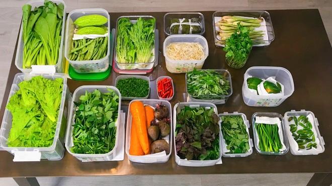 Học cách phụ nữ đảm bảo quản thực phẩm luôn tươi như mới trong mùa dịch - 3
