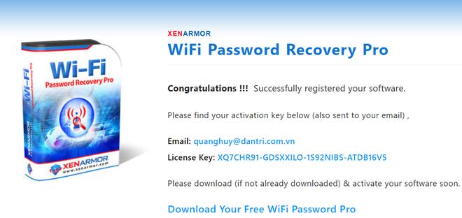 Thủ thuật tìm lại mật khẩu của các mạng WiFi đã kết nối trên máy tính - 2