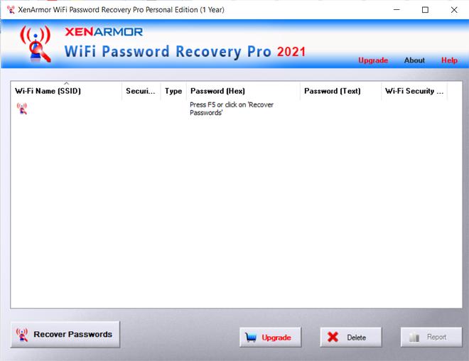 Thủ thuật tìm lại mật khẩu của các mạng WiFi đã kết nối trên máy tính - 4