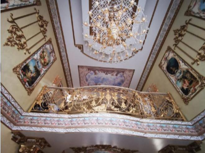 Nga bắt cảnh sát mafia sở hữu biệt phủ dát vàng như cung điện - 3
