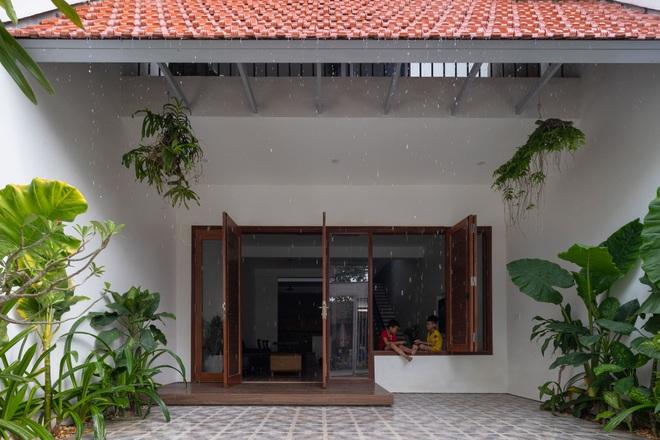 Nhà mái trượt tạo không gian sống xanh, giữ ký ức của gia chủ Nghệ An - 3