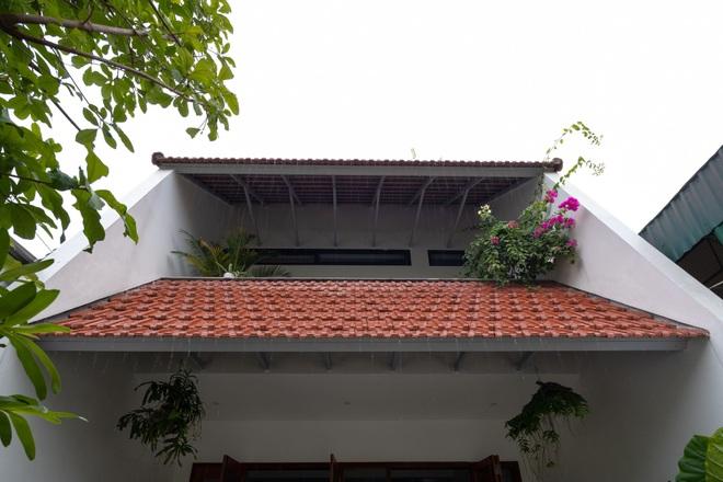 Nhà mái trượt tạo không gian sống xanh, giữ ký ức của gia chủ Nghệ An - 10