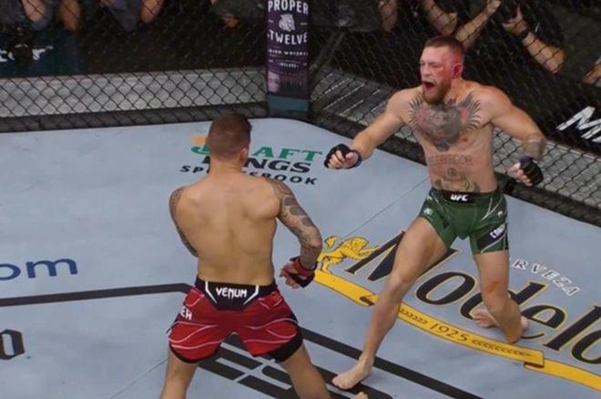 Lý do bất ngờ khiến McGregor bị lật cổ chân khi đấu Poirier - 1