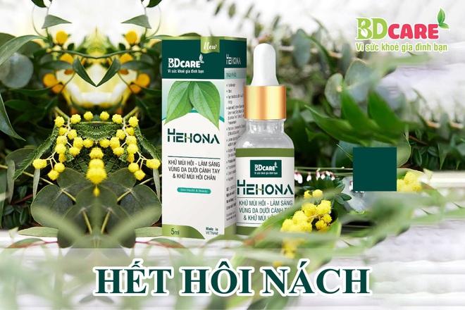 Serum trị hôi nách Hehona - xua tan nỗi lo mùi cơ thể - 1