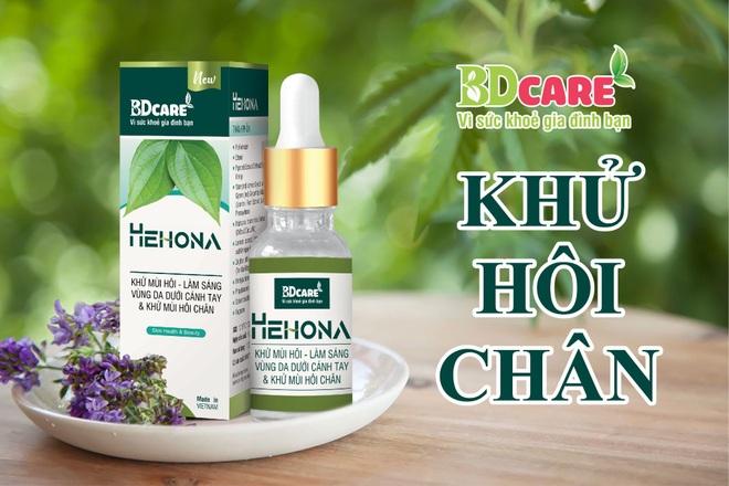 Serum trị hôi nách Hehona - xua tan nỗi lo mùi cơ thể - 4