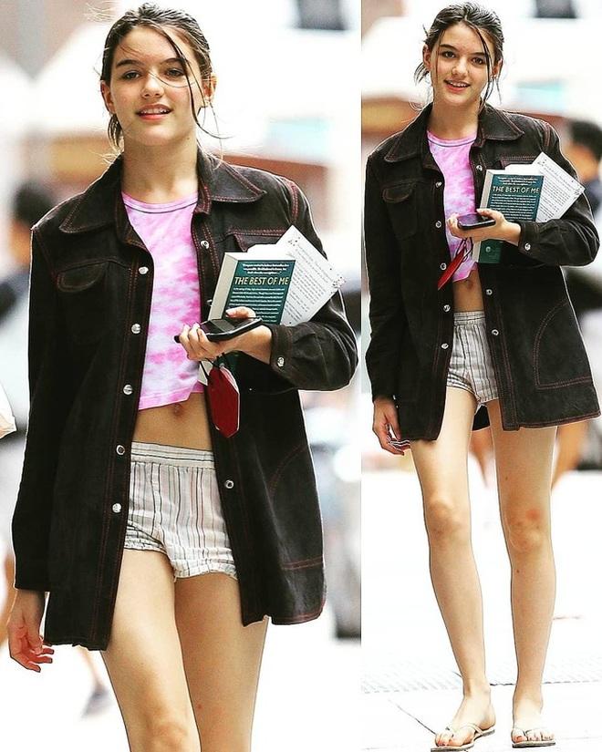 Con gái Tom Cruise đẹp rực rỡ và cuốn hút ở tuổi 15 - 3