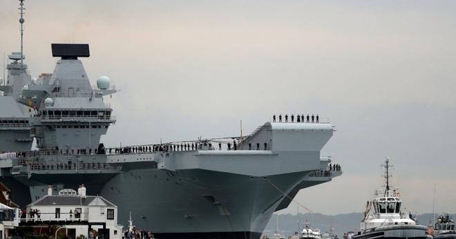 Hai tàu chiến Anh triển khai thường trực ở châu Á - 1