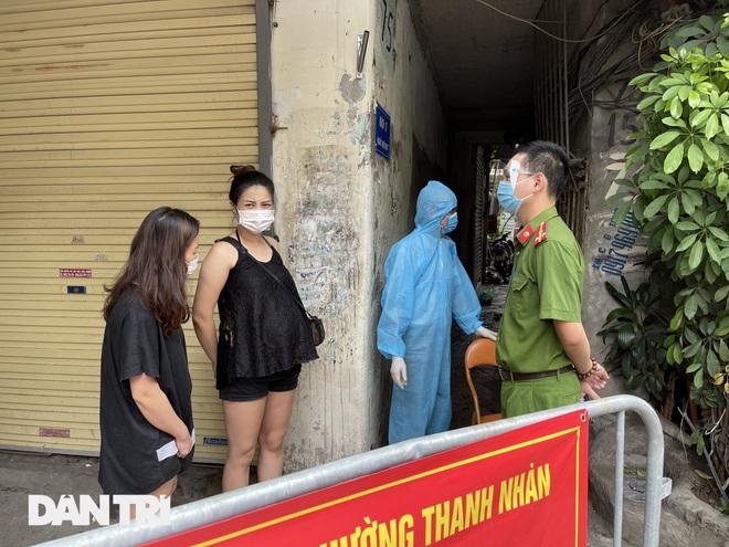 Hà Nội xét nghiệm cho 150 người tại ngõ Quỳnh do liên quan ca dương tính - 6