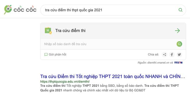 Hướng dẫn cách tra điểm tốt nghiệp THPT 2021 vừa nhanh, vừa chính xác - 3