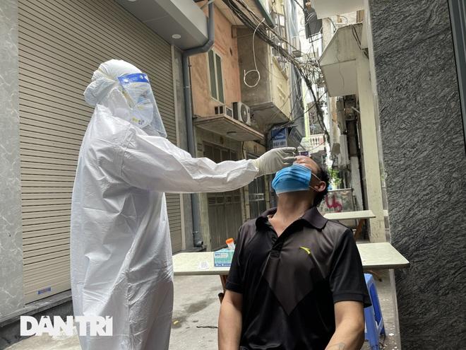 Hà Nội xét nghiệm cho 150 người tại ngõ Quỳnh do liên quan ca dương tính - 3