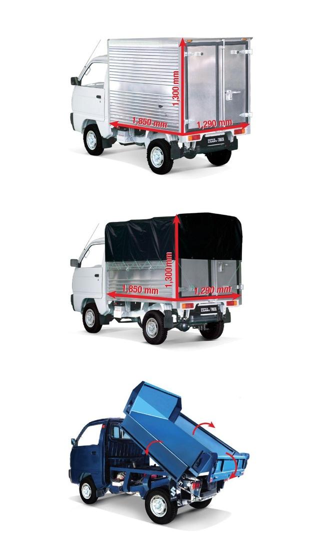 Chọn Suzuki Carry Truck thương hiệu Nhật để tránh phiền hà từ xe tải nhẹ sao chép - 5