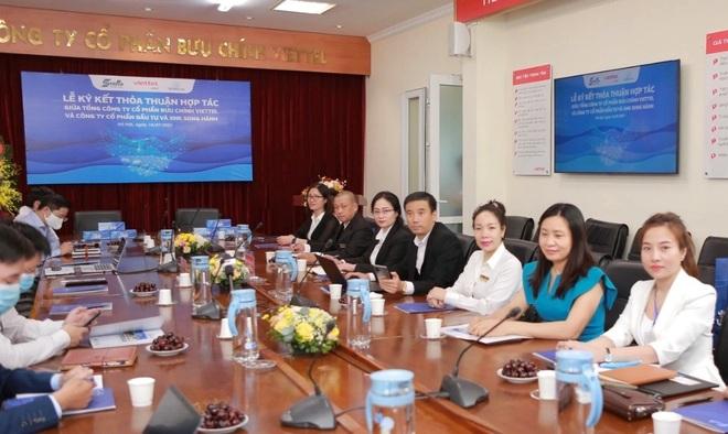 Tổng Công ty Bưu chính Viettel và Công ty Cổ phần Đầu tư  Xuất nhập khẩu Song Hành ký kết hợp tác - 4