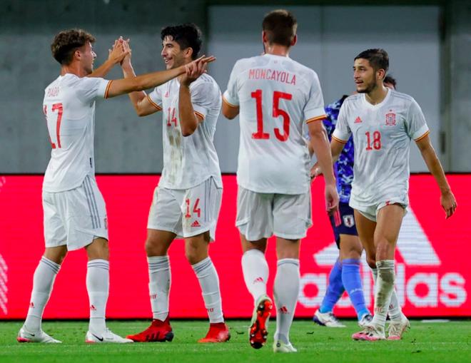 Tây Ban Nha sở hữu đội hình đắt giá nhất môn bóng đá nam Olympic - 1