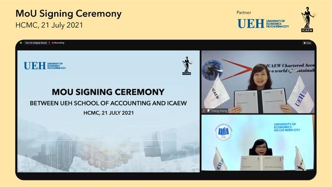 UEH hợp tác đào tạo chất lượng cao và phát triển nghề nghiệp cho sinh viên - 1