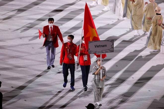 Đoàn Thể thao Việt Nam diễu hành tại Olympic Tokyo - 5