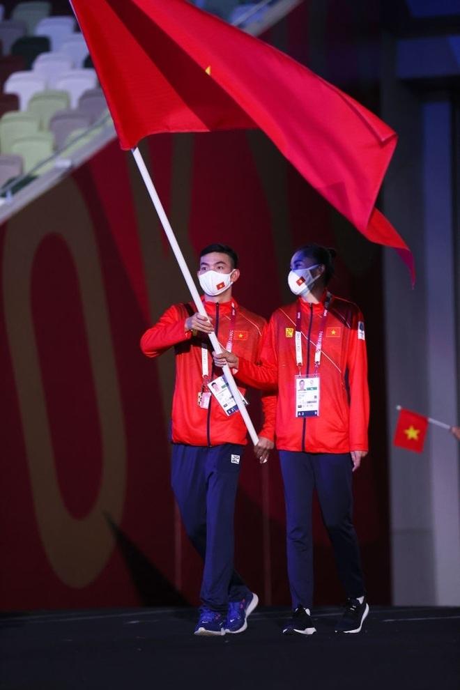 Đoàn Thể thao Việt Nam diễu hành tại Olympic Tokyo - 6