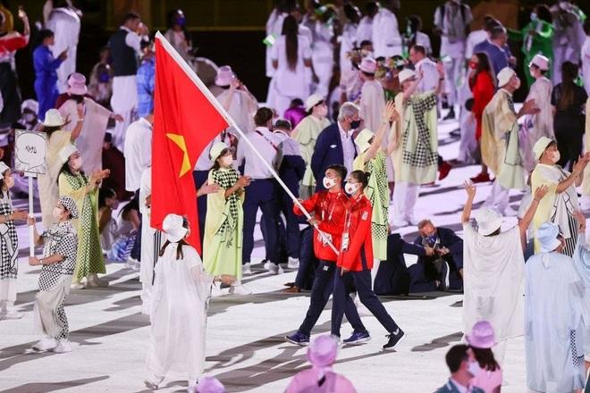 Đoàn Thể thao Việt Nam diễu hành tại Olympic Tokyo - 8