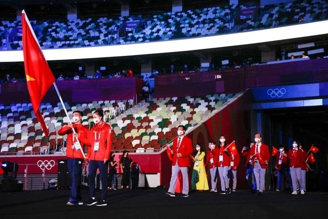 Đoàn Thể thao Việt Nam diễu hành tại Olympic Tokyo - 7