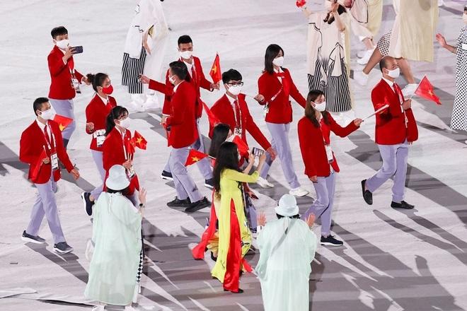 Đoàn Thể thao Việt Nam diễu hành tại Olympic Tokyo - 2