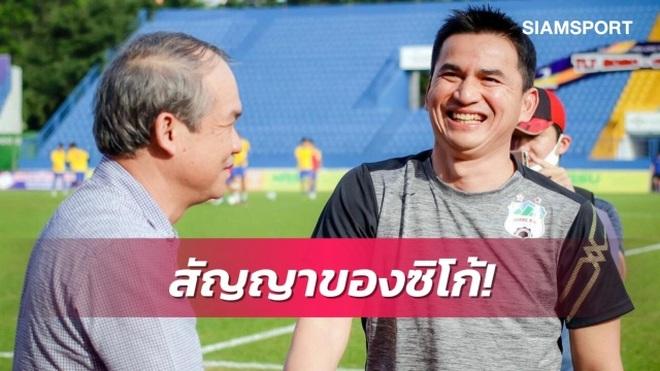 Báo Thái Lan bình luận thế nào quanh phát biểu của bầu Đức về HLV Kiatisuk? - 1
