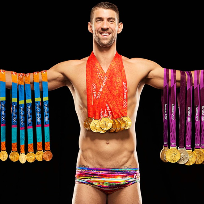 Những huyền thoại thành công nhất lịch sử Olympic - 1