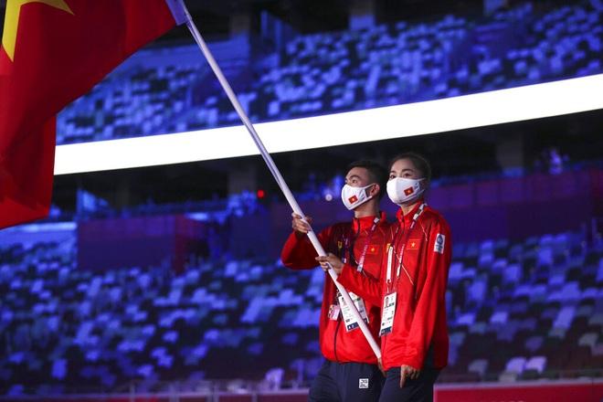 Đoàn Thể thao Việt Nam diễu hành tại Olympic Tokyo - 1