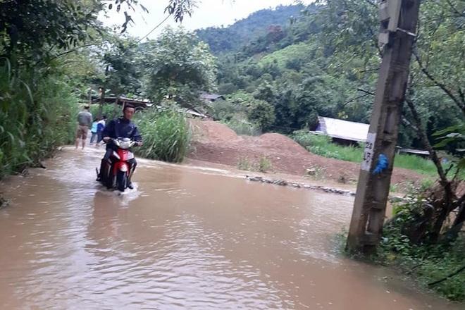 Mưa lớn suốt 24 giờ gây ngập lụt ở huyện cao nhất Nghệ An - 5
