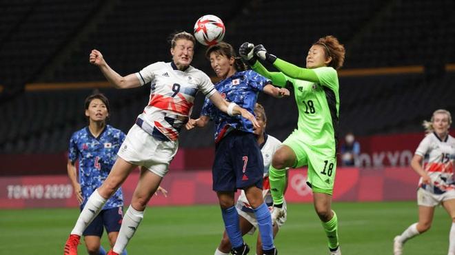 Bóng đá nữ Nhật Bản và Trung Quốc gây thất vọng tại Olympic Tokyo - 1