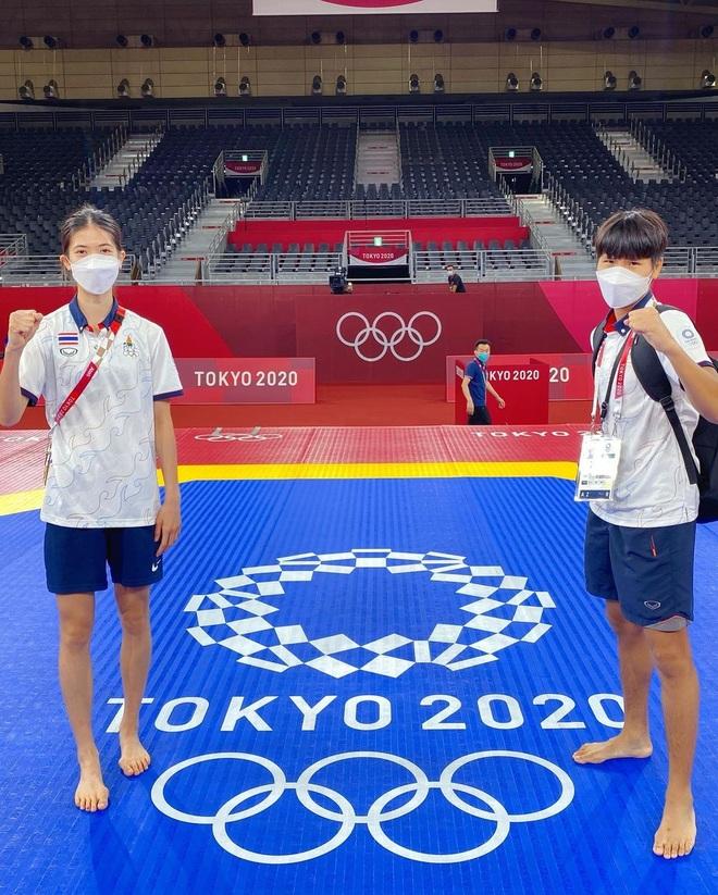 Nữ võ sĩ tài sắc vẹn toàn giúp Thái Lan có HCV đầu tiên ở Olympic 2020 - 9