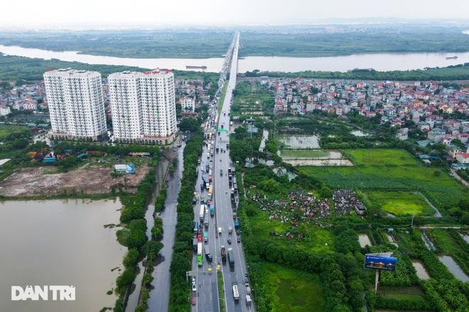 Cửa ngõ Thủ đô ùn tắc kéo dài, hàng nghìn phương tiện buộc phải quay đầu - 1