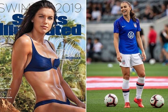 Vẻ đẹp hút hồn của những nữ cầu thủ bóng đá ở Olympic Tokyo - 1