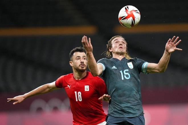 Đánh bại Olympic Ai Cập, Olympic Argentina nuôi hy vọng đi tiếp - 4