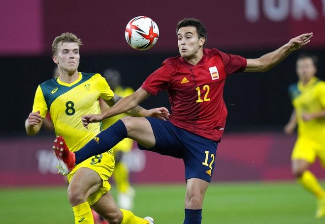 Dàn sao Tây Ban Nha nhọc nhằn đánh bại Olympic Australia - 2