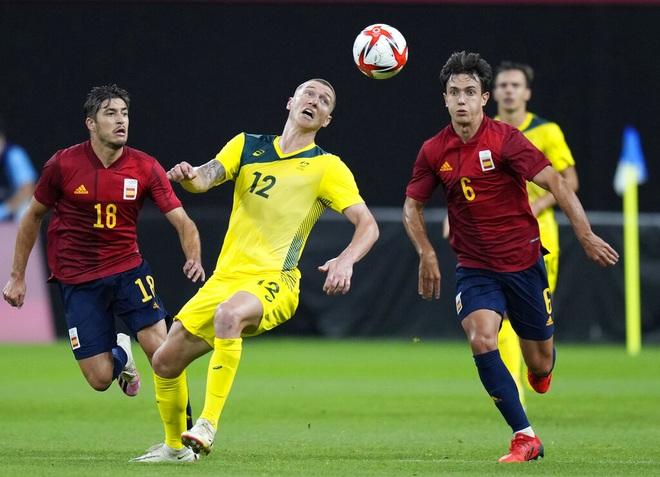 Dàn sao Tây Ban Nha nhọc nhằn đánh bại Olympic Australia - 1