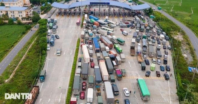 Hải Dương cấm cửa xe chở hàng, điểm ùn tắc nóng nhất Hà Nội hạ nhiệt - 1