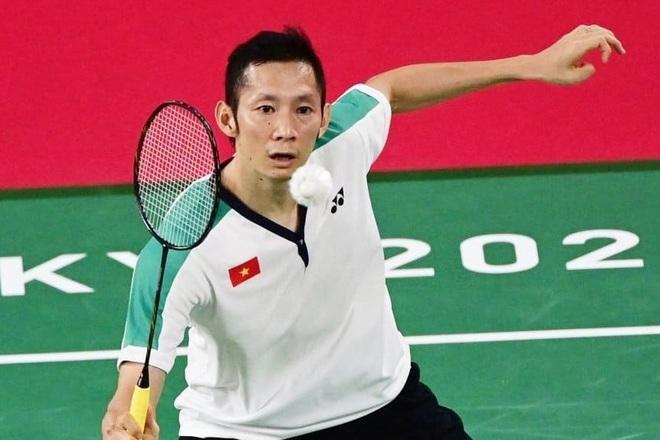 Tiến Minh thua tay vợt hạng 3 thế giới, khó có cửa đi tiếp - 1