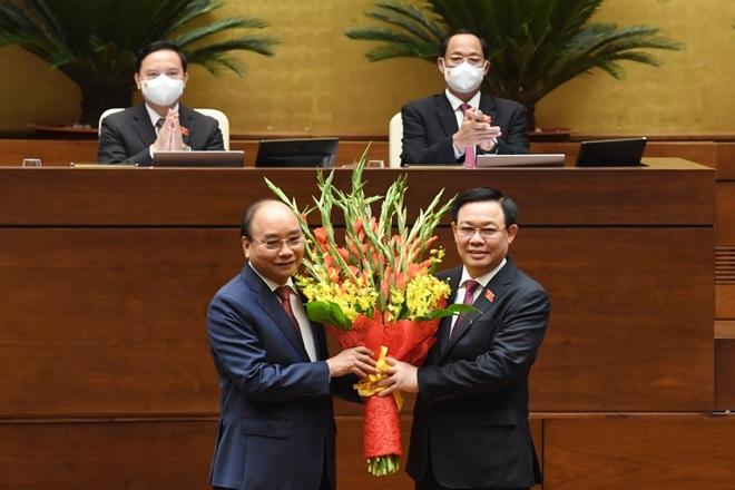 Ông Nguyễn Xuân Phúc đắc cử Chủ tịch nước nhiệm kỳ mới - 3