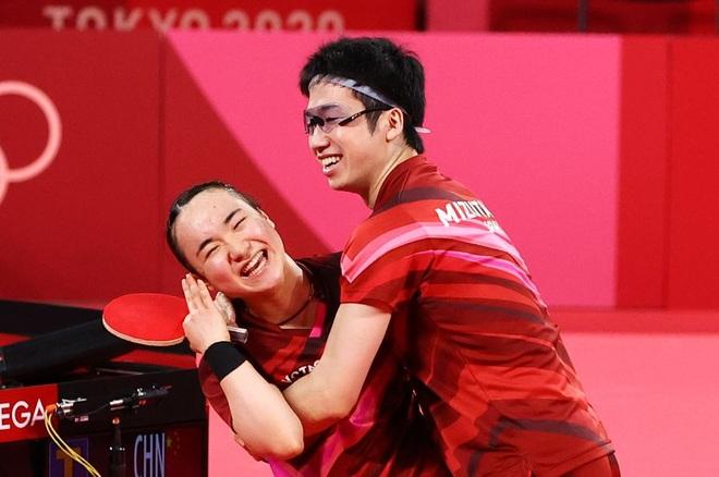 Hành trình giành tấm HCV Olympic khó tin của cặp đôi bóng bàn Nhật Bản  - 4