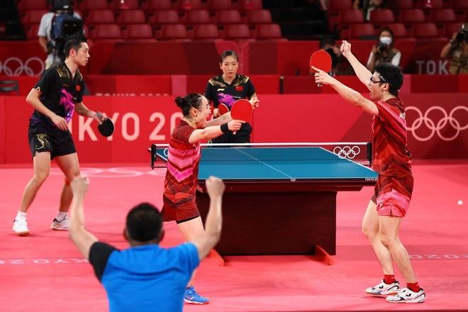 Hành trình giành tấm HCV Olympic khó tin của cặp đôi bóng bàn Nhật Bản  - 3