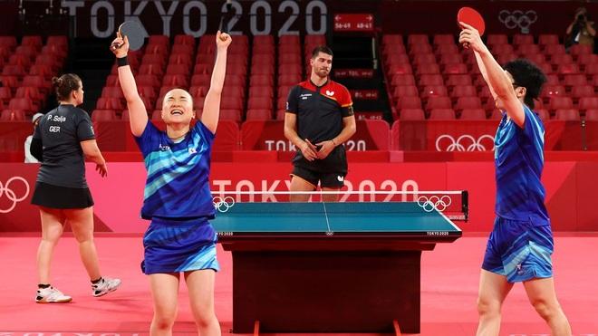 Hành trình giành tấm HCV Olympic khó tin của cặp đôi bóng bàn Nhật Bản  - 2