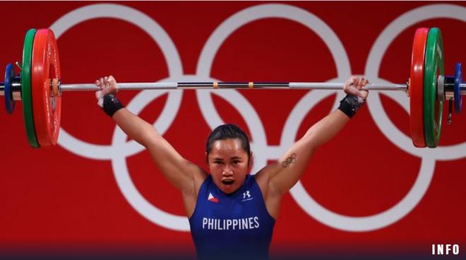 Nữ đô cử Philippines bơi trong tiền sau tấm HCV Olympic lịch sử - 1