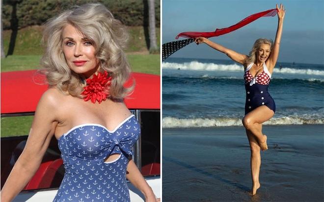 Kinh ngạc với vẻ trẻ trung của người mẫu áo tắm đình đám 57 tuổi - 9