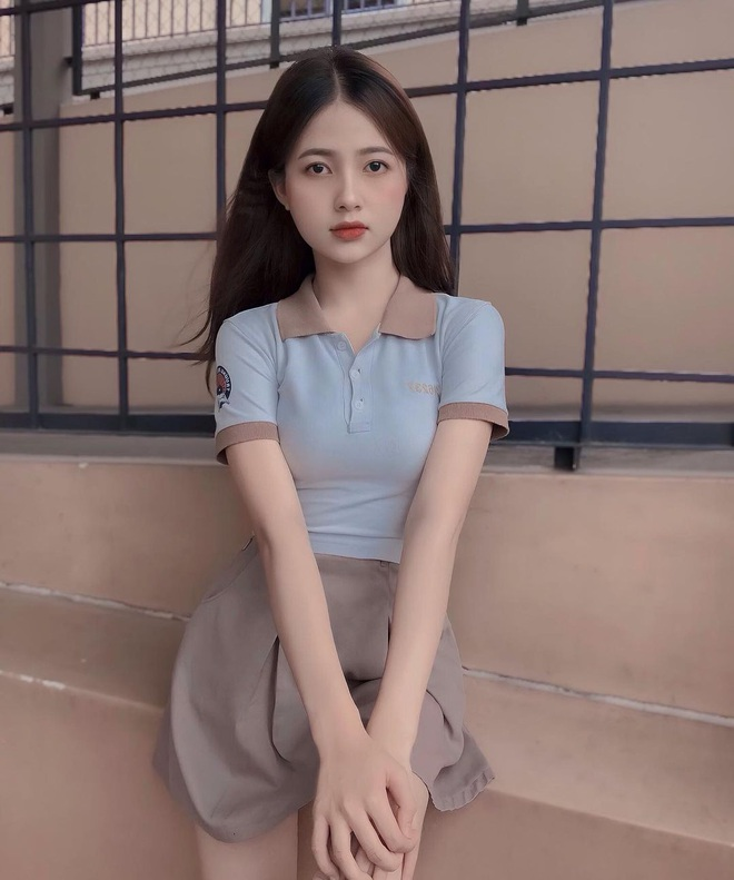 Nữ sinh 18 tuổi đẹp ngọt ngào gieo thương nhớ cho dân mạng - 5