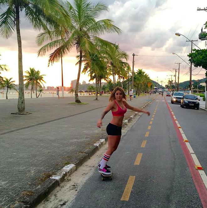 Leticia Bufoni - Người đẹp trượt ván gây sốt tại Olympic Tokyo - 9